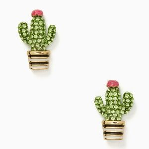 Kate Spade Scenic Route Cactus Stud Earrings